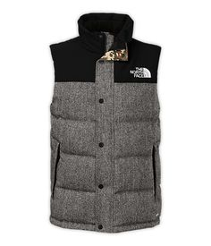The North Face Men's Jackets & Vests Vests MEN'S TWEED NUPTSE HEIGHTS VEST