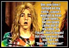 Only 90's kids will understand how he says this