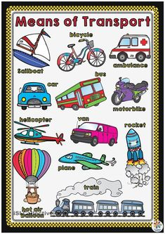 Means of Transport POSTER