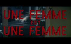 Une femme est une femme, Godard