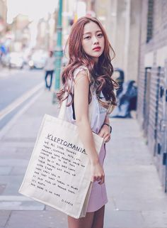 Park seul her hair😍 Korean Street Fashion, Korea Fashion, Asian Fashion, Vintage Hipster, Park Seul, Vestidos Polo, Ulzzang Girl Fashion, Korean Girl, Asian Girl