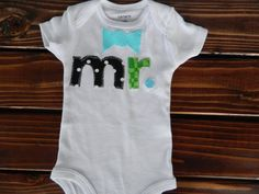 Gender Reveal Bodysuit Baby Boy Outfit Baby by CarasPlayground, $15.00