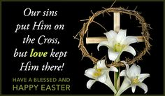 Free Love on the Cross eCard - eMail Free Personalized Easter Cards Online