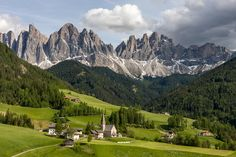"""Santa Maddalena and Church"" by Hans Kruse, via 500px."