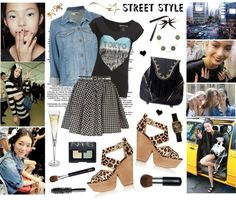 """Dancing in the streets"" by elske88 ❤ liked on Polyvore"