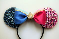 Sleeping Beauty Make it pink, make it blue Inspired Minnie Ears by EarsAllAboutIt on Etsy www.etsy.com/...