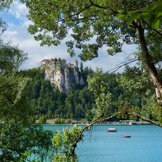 Bled Castle is the oldest castle in Slovenia by B℮n on Flickr.
