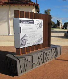 We've been doing an interpretive signage project with public artist Steve...