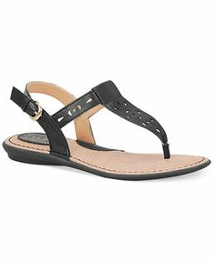 b.o.c. by Born Charel Thong Sandals synthetic black, pewter, ocean .75h sz7.5 39.99 Sale thru 5/10 25%off (22.50)