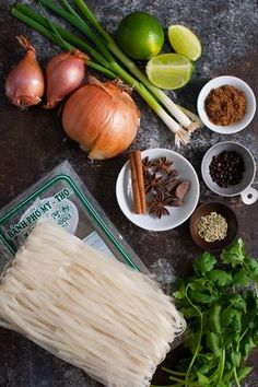 Vietnamese Chicken Pho - authentic Vietnamese pho soup made with rice noodles and a deeply fragrant broth seasoned with star anise, cardamom, cinnamon and fennel seeds. | tamingofthespoon.com