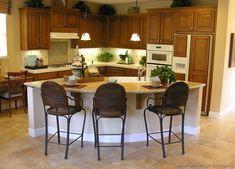 Curved Kitchen Island 24 most creative kitchen island ideas | space kitchen, countertops
