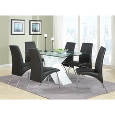 Shop for Modern White Dining Table. Get free shipping at Overstock.com - Your…
