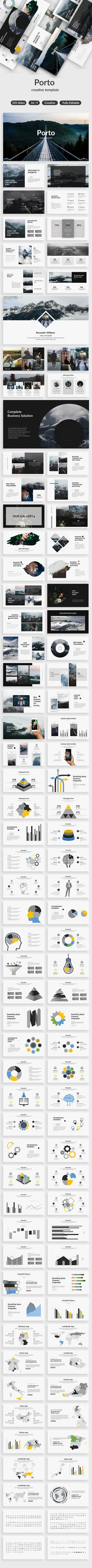 Porto Creative Keynote Template - Creative Keynote Templates