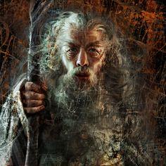 Gandalf by Olga-Tereshenko.deviantart.com on @DeviantArt