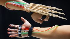 X-MEN WOLVERINE Claws fully automatic DIY tutorial - Popsicle sticks
