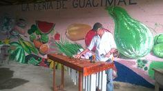 Gilberto Quiroz en la Feria de Guacimal. Sábados de música marimba en vivo!