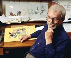 Chuck Jones - Animator. I had the great pleasure of studying with him at the Laguna Art Institute in California. Television Tropes & Idioms.