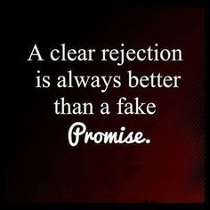 Rejection is hard on the mind... A fake promise is hard on the heart...#CarDealsGuru
