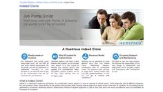 Download Indeed.com clone script to create your own online jobs portal in no time. Click to find Indeed.com php scripts online.