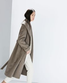 Minimal and Classic Style // WOOL COAT