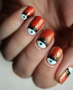 The Digit-al Dozen Does The Terrific Twos! Celebrating Our 2nd Anniversary with an Evil Eye Half Moon Manicure