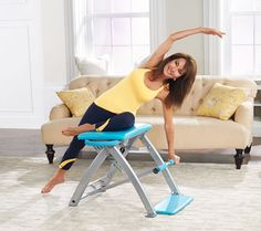 From the co-creator of Malibu Pilates, the Pilates PRO Chair has the power to give you a great workout. QVC.com