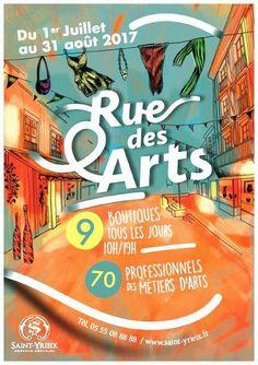 rues des arts st yrieix la perche 17 Rues, Expo, Comic Books, Comics, Cover, Jewerly, Cartoons, Cartoons, Comic