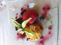 Desert at Barca Caviar, Deserts, Fish, Drink, Meat, Beverage, Pisces, Postres, Dessert