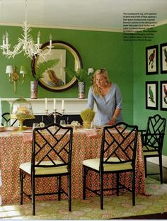 Decorating With Green Walls Accents And Accessories