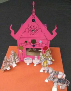 Spirit House of Thailand (activity) | Asian Art Museum | Education