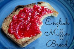 English Muffin Bread Recipe on $100 A Month at http://www.onehundreddollarsamonth.com/english-muffin-bread/