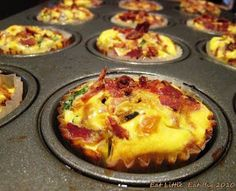 Eat Little, Eat Big: Recipe for Mini-Quiche