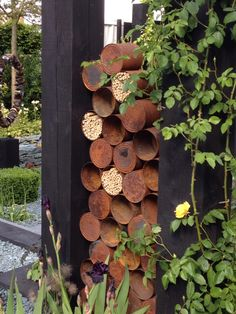 Bee Hotel in tin can