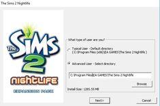 Install Sims 2 & Packs On Windows 10 What Type, Sims 2, Windows 10, Night Life