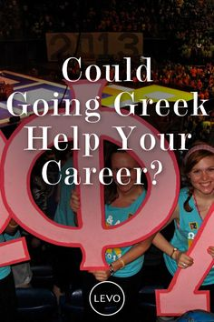Here's another article on the Gallup survey. We certainly think going Greek changes your life for the better in many categories--your career is just one of them. #greek #aftercollege #careertips