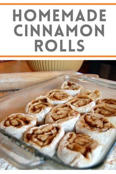 Back in my innkeeping days, we made the BEST homemade cinnamon rolls. From scratch. It's an easy recipe, it takes a little extra time. But once you make them from scratch, you'll never want the pre-made stuff at the store again. | thetravelbite.com | #CinnamonRolls #Baking #Breakfast #Homemade Breakfast Recipes, Dessert Recipes, Desserts, Cinnamon Rolls From Scratch, No Flour Cookies, Cinnamon Recipes, Whole Food Recipes, Easy Meals, Yummy Food