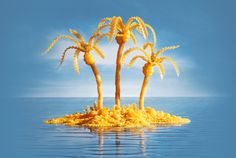 You Won't Believe this Art is Made from Food