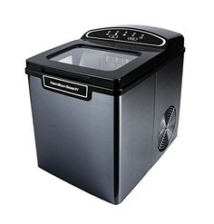 Ivation Portable Ice Maker Compact Countertop Ice Machine Makes