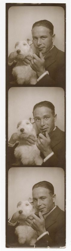 Anatol Josepho a fost inventatorul primului photobooth! Poză făcută prin anii '20.