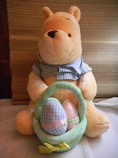 Winnie-The-Pooh-Bear-Plush-Teddy-Easter-Pooh-Disney-Store