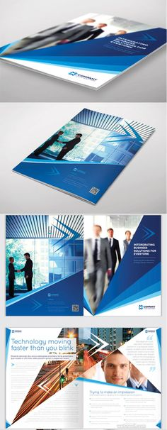 50 Creative Corporate Brochure Design ideas for your Inspiration | Read full article: http://webneel.com/25-creative-corporate-brochure-design-examples-your-inspiration | more http://webneel.com/brochure-designs | Follow us www.pinterest.com/webneel