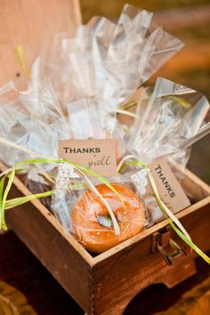 Fall Wedding Favors | Chris Moncus Photography