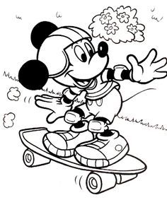 dessin mickey imprimer coloriage dessins disney mickey 33