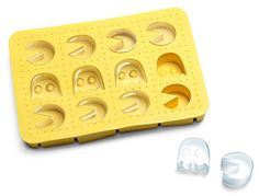 Pac Man Ice Cube Tray: Inky, Blinky, Pinky and Icy