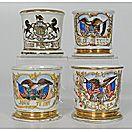 Patriotic Shaving Mugs - Cowan's Auctions
