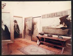 Just some color photos of Romaine Brooks' studio,... | Deviates, Inc.