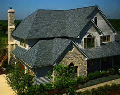CertainTeed Independence shingle, shown in Georgetown Gray.