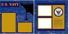 Uniformed Scrapbooks of America-Navy