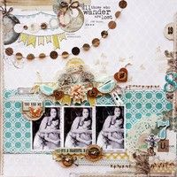 A Project by larialbernaz from our Scrapbooking Gallery originally submitted 02/15/12 at 07:24 AM