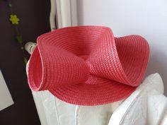 #Bibi #chapeau de #mariage réalisé sur mesures, 25€  Au profit de la Fondation ARC, Imagine For Margo ou l'Association RÊVES